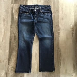 Women's American Eagle 14 Short Straight Jeans